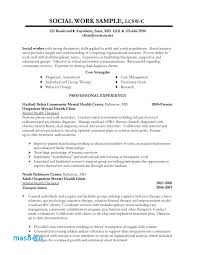 Social Services Resume Examples 79 Inspirational Sample Social