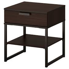 Grosartig Dark Brown Nightstand Table Stool Height Cover Ha Loreal