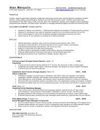 National Account Manager Resume Samples Account Supervisor Resume