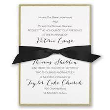 Golden Glow Invitation