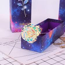 <b>Star Gold</b> Foil Rose <b>Creative Gold</b> Rose Teacher's Day Gift Home ...