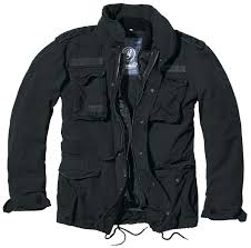 m65 giant winter jacket black