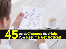 get my resume noticed cipanewsletter how to get a resume noticed