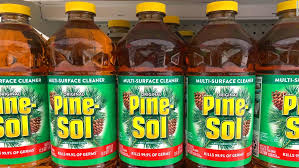 pine sol cleaner has been approved to