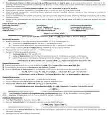 Resume Format For Hr Hr Resume Samples Hr Resume Template Hr Resume ...