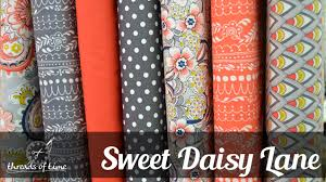 Threads of Time Online - Shop Quilting Fabrics, Notions, Jelly ... & Sweet Daisy Lane Fabric Collection Adamdwight.com