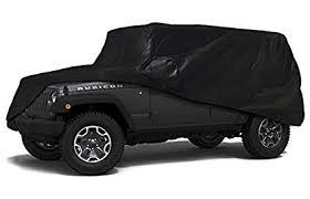 carscover custom fit 100 sunblock 2004 2018 jeep wrangler unlimited 4 door suv xtrashield