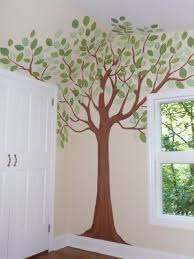 Murals & Faux Finishing - Tips, Advice, and Ideas: Nursery Tree Mural -