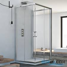3 sided shower cubicle enclosure shower screen glass