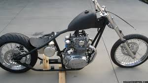 bare bones budget bobber xs650 chopper