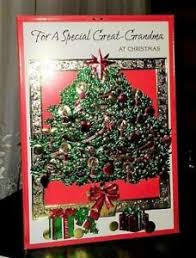 Details About Christmas Greeting Card For A Special Great Grandma At Christmas