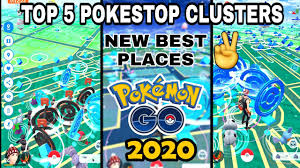 Top 5 best places for spoofing in pokemon go || top 5 best pokestop  clusters in pokemongo 2020. - YouTube