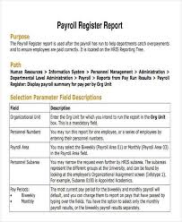 To Payroll Report Template Certified Example Excel U2013 Arttion
