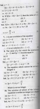 linear equations class 7 ml aggarwal