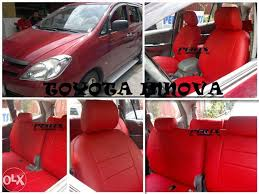 high quality toyota innova fit customized leather auto car seat cover