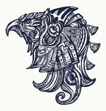 Plakát Starověké Egypt Tetování A Tričko Designhorus Gods Oko Ra