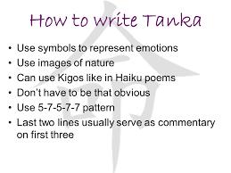 Haiku Pattern Beauteous Haiku And Tanka Poetry Ppt Video Online Download