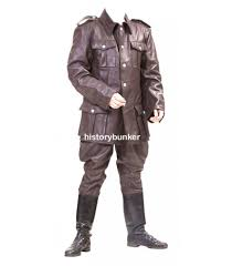 ww2 german style m36 leather tunic and breeches ww2 german leather jacket karl ruprecht kroenen