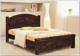 Bedroom Fabulous Modern Wooden Double Beds 16 Classic Design Carved Dark Brown Stained Bed Frame For