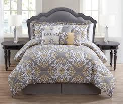 piece dream mintcharcoalwhite print comforter set  my dream