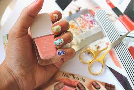 Angel's Corner: Sephora Textile Nail Art Stickers