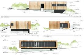 modern architectural drawings. Architectural Elevation Drawings Plan Section Modern E