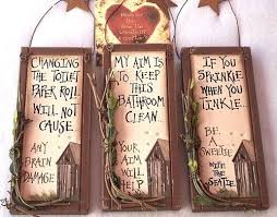 bathroom wall decor signs fascinating outhouse signs set of 3 country primitive bathroom home wall decor on primitive outhouse bathroom wall art set of 3 with bathroom wall decor signs alluring best 25 bathroom signs ideas on