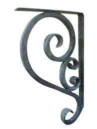 wrought iron fireplace mantel brackets ideas