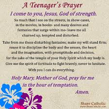 Prayer for youth teens a