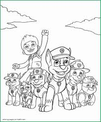 Paw Patrol Printable Coloring Pages Awesome Coloring Pages Paw
