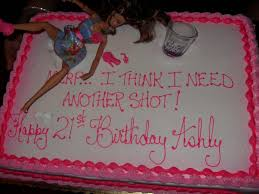 Haha I Love These Drunk Barbie 21st Birthday Cakes Too Funny 21