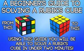 Pattern To Solve Rubik's Cube Unique Decorating Design