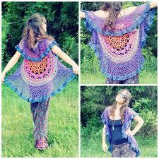 Crochet Mandala Vest Pattern Free Magnificent Decorating Ideas