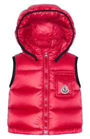 Moncler  Brice  Hooded Down Vest (Baby Girls)❤️