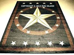 area rug with stars primitive rugs star