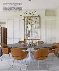 modern neutrals in a clic grand dining room