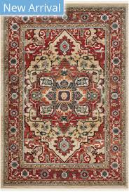 ralph lauren power loomed lrl1298c red beige area rug