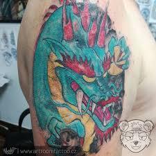 Tetování Jin Jang Tattoo