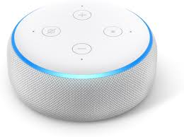Amazon Echo Dot (3rd Generation) (White) Voice-activated virtual assistant  at Crutchfield