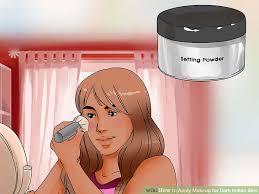 hindi mugeek vidalondon image led apply makeup for dark indian skin step 5