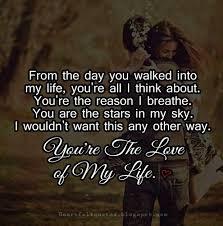 Love Of My Life Quotes For Her Gorgeous Love Quotes For Him For Her The Love Of My Life Quotes Daily