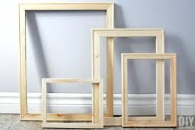 picture frame how to make wood frames the quick and easy way with regard in