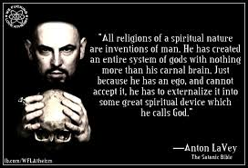 Satanic Bible Quotes Beauteous Anton LaVey We Fucking Love Atheism