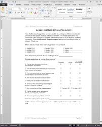 Satisfaction Survey Customer Satisfaction Survey Template SL2424 9