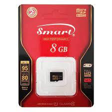 Smart Micro SD 8GB Hafıza Kartı Class 10