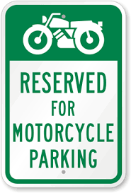 Image result for harley parking space