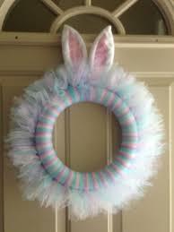 easter wreath with bunny ears on 25 00