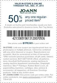 Joann Sewing Machine Coupon