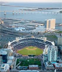 Petco Park 3d Seating Chart Aerial Views Of Petco Park In Downtown San Diego Showing The