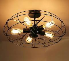 loft western style rustic restaurant industry and creative personality ceiling fans lights balcony study with stars